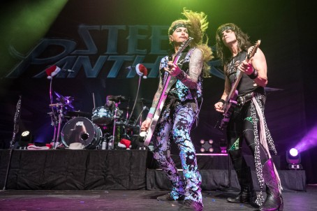Lexxi Foxx and Satchel of Steel Panther