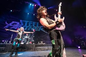 Satchel, lead guitarist of Steel Panther