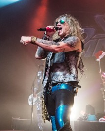 Michael Starr, lead singer of Steel Panther