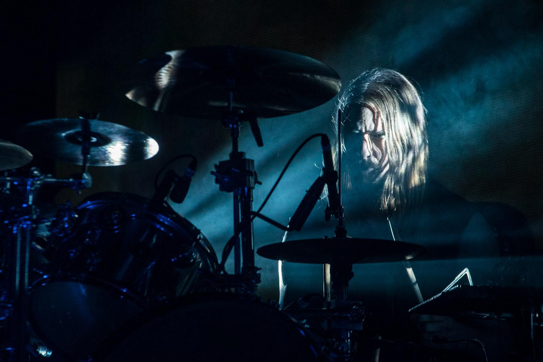 "Martin ""Axe"" Axenrot, drummer of Opeth"