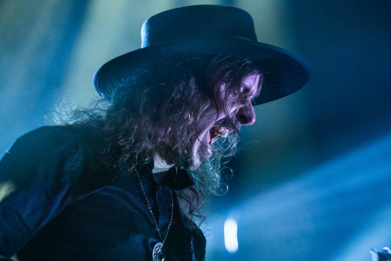 Mikael Åkerfeldt, lead singer of Opeth