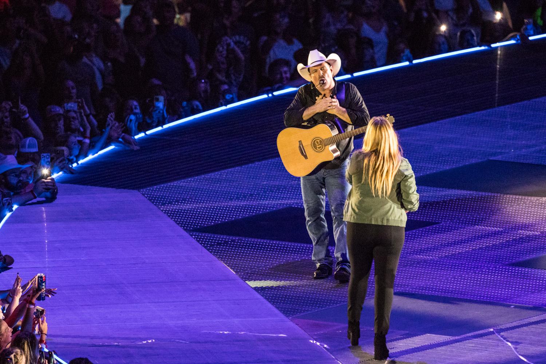 Garth Brooks concert at GEHA Field at Arrowhead on August 7, 2021