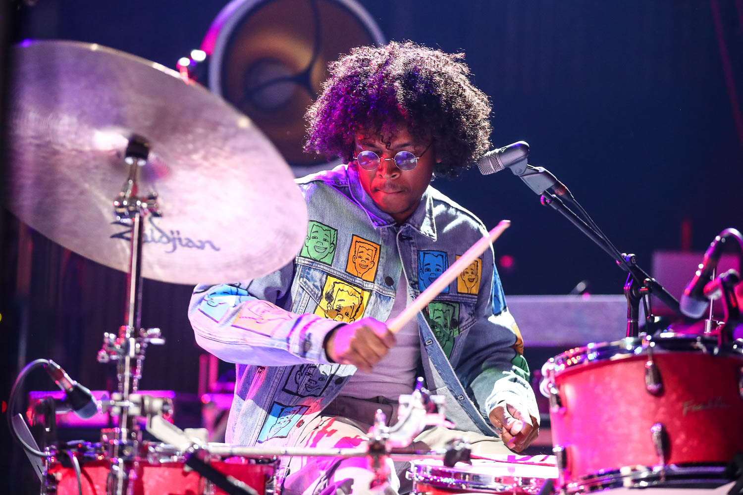 Darius Fitzgerald, drummer of The New Respects