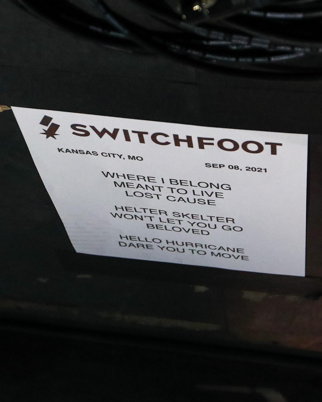 Switchfoot Setlist