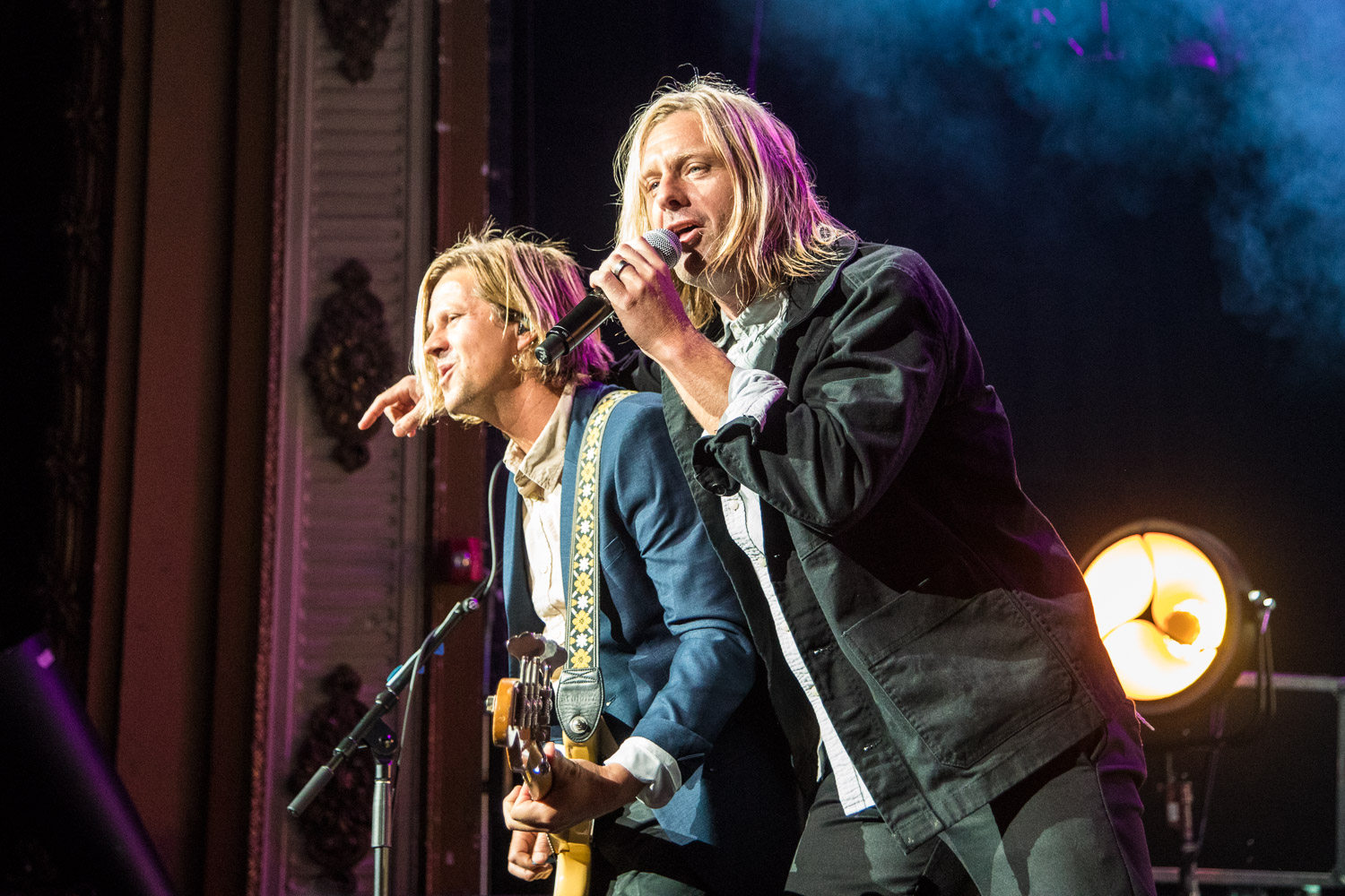 Jon and Tim Foreman of Switchfoot