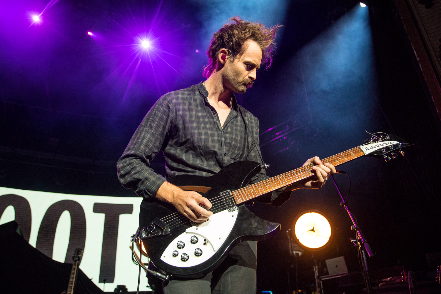 Boaz Roberts, touring guitarist of Switchfoot