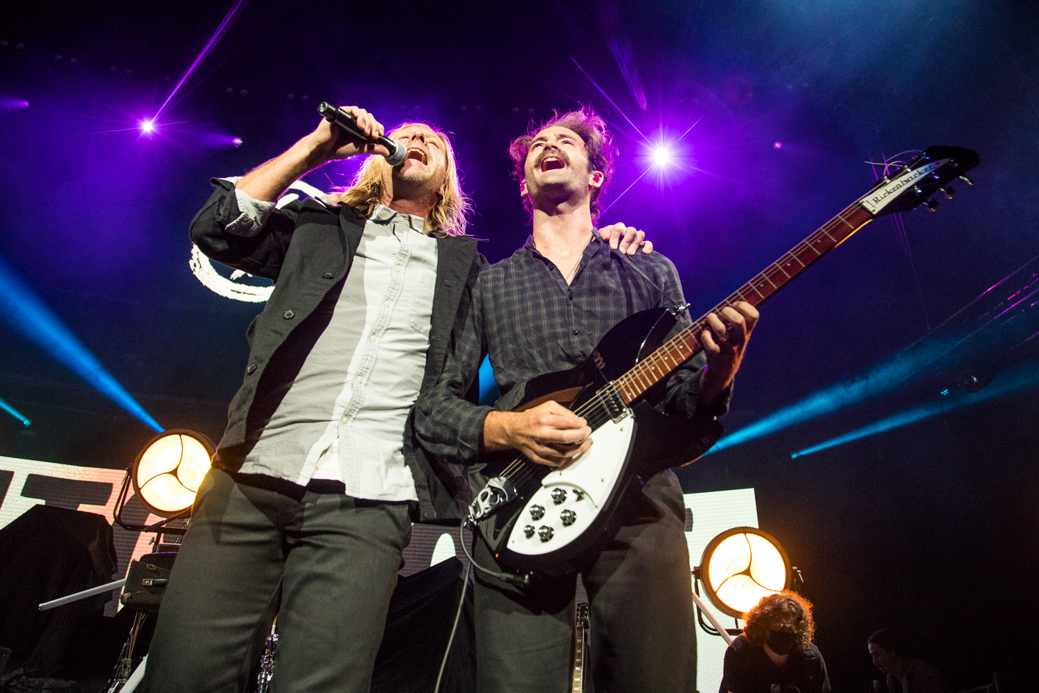 Jon Foreman and Boaz Roberts of Switchfoot